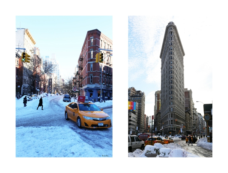 Chelsea and Flatiron Collage